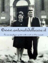 Nuccitelli Macario (1937) e Gargano Rosa (1942) Viaggio di Nozze a Padova (1965)