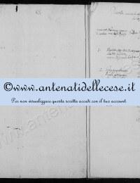 *14862594* Cese - Lista dei Matrimoni Anno 1812