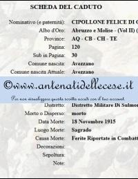 Cipollone Felice (1881-1915) di Giouse - scheda militare morto in guerra.jpg