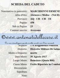Marchionni Ermenegildo (1898-1917) di Noe - Caduto nella grande guerra.jpg
