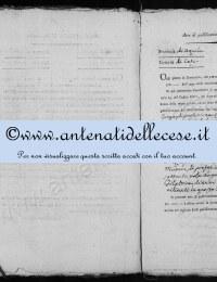 *14862972* 2à Publicazione di matrimonio tra Torge Vincenzo e Micocci Domenica