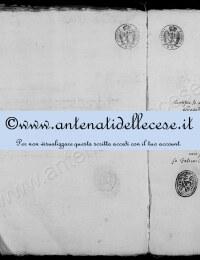 *14862988* Estratto nascita Micocci Domenica Antonia (1780-1848)