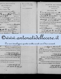 *8777041* 2-Notificazione Occhiuzzi Antonio e Marchionni Maria Rosa (16/06/1822) *8777041* 3-Notificazione Cipollone Giovanni B. e De Simone Maddalena (08/09/1822)
