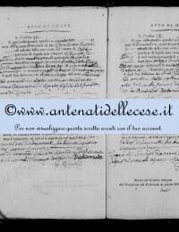 *14863872* 11-Atto di morte di Di Loreto Anna Maria (28/12/1815) *14863872* 12-Atto di morte di De Amicis Angelo Felice (29/12/1815)