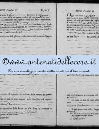 *14864384* 8-Atto di nascita di Patrizi Domenica Liberata (02/05/1811) *14864384* 9-Atto di nascita di Di Pasquasio Maria Antonia (04/06/1811)