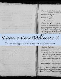 *14865134* 12-Dichiarazione nascita Di Matteo Cesidio Antonio (01/09/1811)