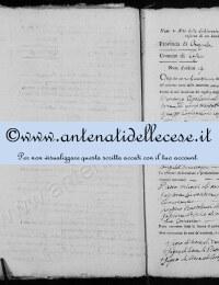 *14865162* 19-Dichiarazione Nascita Cipollone Angela Innocenza (27/12/1811)