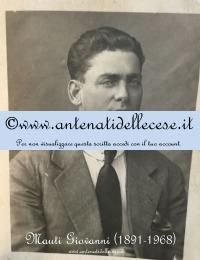 Mauti Giovanni (1881-1968) - da giovane